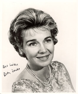 BETSY DRAKE - AUTOGRAPHED SIGNED PHOTOGRAPH