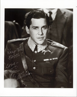 TIM MATHESON - AUTOGRAPHED SIGNED PHOTOGRAPH
