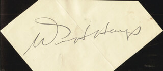 WILL H. HAYS - CLIPPED SIGNATURE