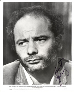 BURT YOUNG - AUTOGRAPHED SIGNED PHOTOGRAPH 1984