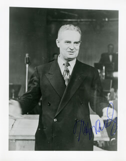FRED WARING - AUTOGRAPHED SIGNED PHOTOGRAPH