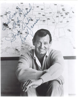 DAVID JANSSEN - AUTOGRAPHED INSCRIBED PHOTOGRAPH