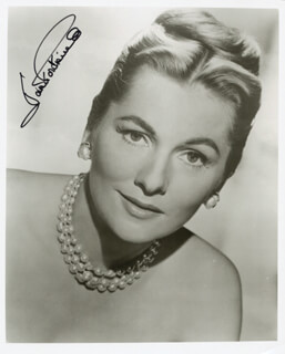 JOAN FONTAINE - AUTOGRAPHED SIGNED PHOTOGRAPH