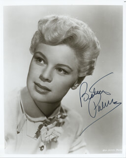 BETSY PALMER - AUTOGRAPHED SIGNED PHOTOGRAPH