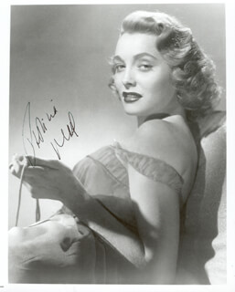 PATRICIA NEAL - AUTOGRAPHED SIGNED PHOTOGRAPH
