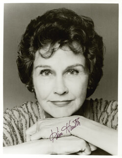 KIM HUNTER - AUTOGRAPHED SIGNED PHOTOGRAPH