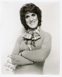 RUTH BUZZI - AUTOGRAPHED SIGNED PHOTOGRAPH 1980