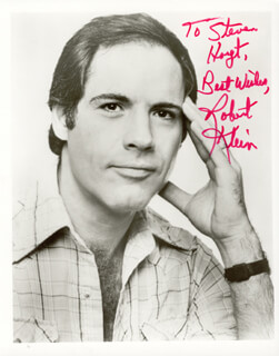 ROBERT KLEIN - AUTOGRAPHED INSCRIBED PHOTOGRAPH