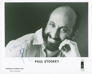PETER, PAUL & MARY (PAUL STOOKEY) - AUTOGRAPHED SIGNED PHOTOGRAPH