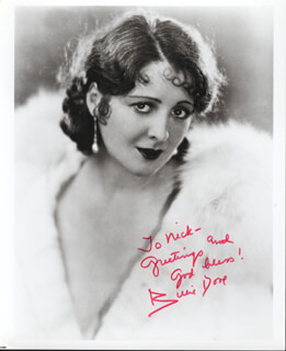 BILLIE DOVE - AUTOGRAPHED INSCRIBED PHOTOGRAPH