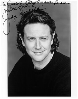 JUDGE REINHOLD - AUTOGRAPHED INSCRIBED PHOTOGRAPH