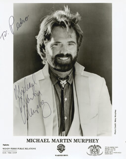 MICHAEL MARTIN MURPHEY - AUTOGRAPHED INSCRIBED PHOTOGRAPH