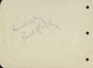 PAUL KELLY - AUTOGRAPH SENTIMENT SIGNED CO-SIGNED BY: MARY BOLAND