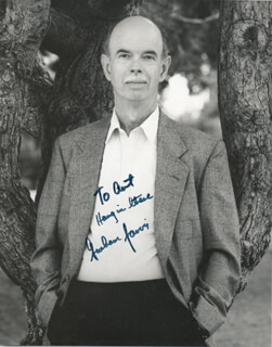 GRAHAM JARVIS - AUTOGRAPHED INSCRIBED PHOTOGRAPH