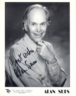 ALAN SUES - AUTOGRAPHED SIGNED PHOTOGRAPH