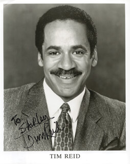 TIM REID - AUTOGRAPHED INSCRIBED PHOTOGRAPH  - HFSID 199380