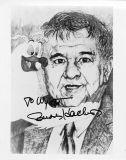 BUDDY HACKETT - AUTOGRAPHED INSCRIBED PHOTOGRAPH