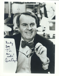 CHARLES OSGOOD - AUTOGRAPHED SIGNED PHOTOGRAPH