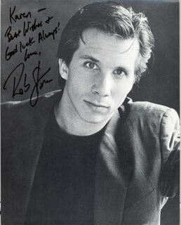 ROB STONE - AUTOGRAPHED INSCRIBED PHOTOGRAPH