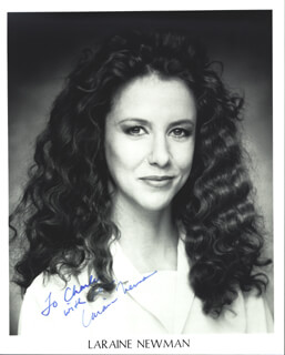 LARAINE NEWMAN - AUTOGRAPHED INSCRIBED PHOTOGRAPH