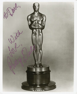 PATTY DUKE - AUTOGRAPHED INSCRIBED PHOTOGRAPH
