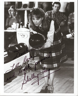 SHELLEY LONG - AUTOGRAPHED INSCRIBED PHOTOGRAPH CIRCA 1985