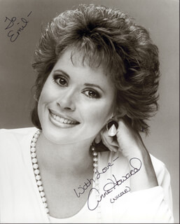 ANNE HOWARD - AUTOGRAPHED SIGNED PHOTOGRAPH