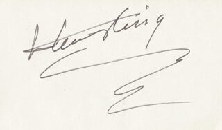 HENRY KING - AUTOGRAPH