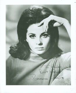 BARBARA PARKINS - AUTOGRAPHED INSCRIBED PHOTOGRAPH