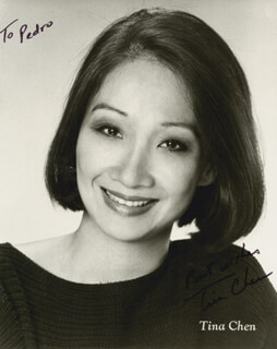 TINA CHEN - AUTOGRAPHED INSCRIBED PHOTOGRAPH