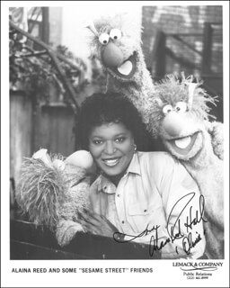 ALAINA REED HALL - AUTOGRAPHED SIGNED PHOTOGRAPH