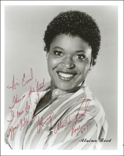 ALAINA REED HALL - AUTOGRAPHED INSCRIBED PHOTOGRAPH