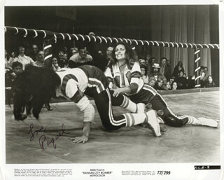 RAQUEL WELCH - AUTOGRAPHED SIGNED PHOTOGRAPH