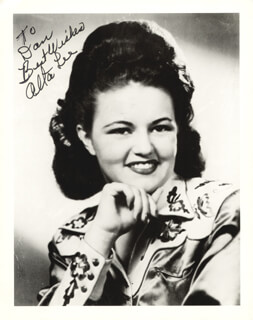 ALTA LEE - AUTOGRAPHED INSCRIBED PHOTOGRAPH