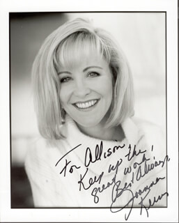 JOANNA KERNS - AUTOGRAPHED INSCRIBED PHOTOGRAPH