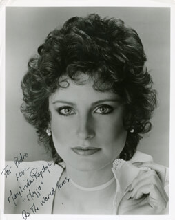 MARY LINDA RAPELYE - AUTOGRAPHED SIGNED PHOTOGRAPH