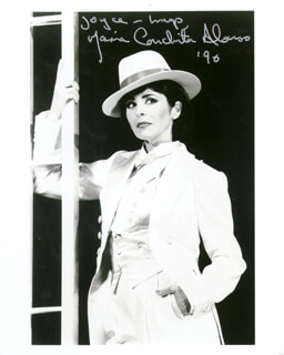 MARIA CONCHITA ALONSO - AUTOGRAPHED SIGNED PHOTOGRAPH 1990