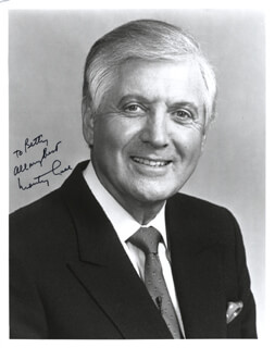 MONTY HALL - AUTOGRAPHED INSCRIBED PHOTOGRAPH