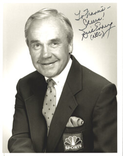 DICK ENBERG - AUTOGRAPHED INSCRIBED PHOTOGRAPH