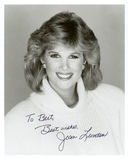 JOAN LUNDEN - AUTOGRAPHED INSCRIBED PHOTOGRAPH