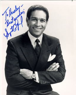 BRYANT GUMBEL - AUTOGRAPHED INSCRIBED PHOTOGRAPH
