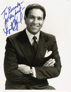 BRYANT GUMBEL - AUTOGRAPHED SIGNED PHOTOGRAPH
