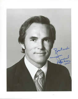 TOM JARRIEL - AUTOGRAPHED SIGNED PHOTOGRAPH