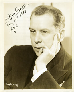 WILFRID PELLETIER - AUTOGRAPHED SIGNED PHOTOGRAPH