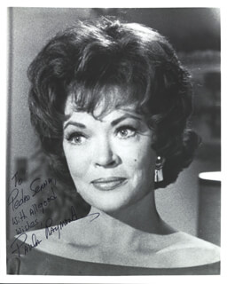 PAULA RAYMOND - AUTOGRAPHED INSCRIBED PHOTOGRAPH