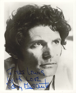 TONY MUSANTE - AUTOGRAPHED INSCRIBED PHOTOGRAPH
