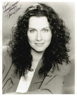 VERONICA HAMEL - AUTOGRAPHED INSCRIBED PHOTOGRAPH