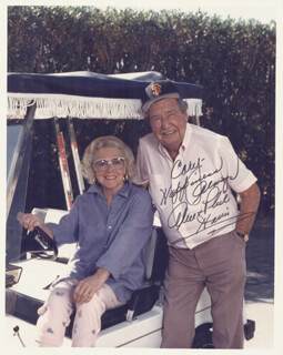 PHIL HARRIS - AUTOGRAPHED INSCRIBED PHOTOGRAPH