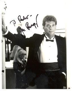 JOE PISCOPO - AUTOGRAPHED INSCRIBED PHOTOGRAPH