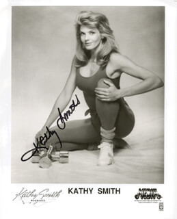 KATHY SMITH - AUTOGRAPHED SIGNED PHOTOGRAPH